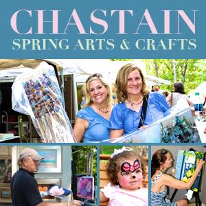 Chastain Park Spring Arts & Crafts Festival 2021